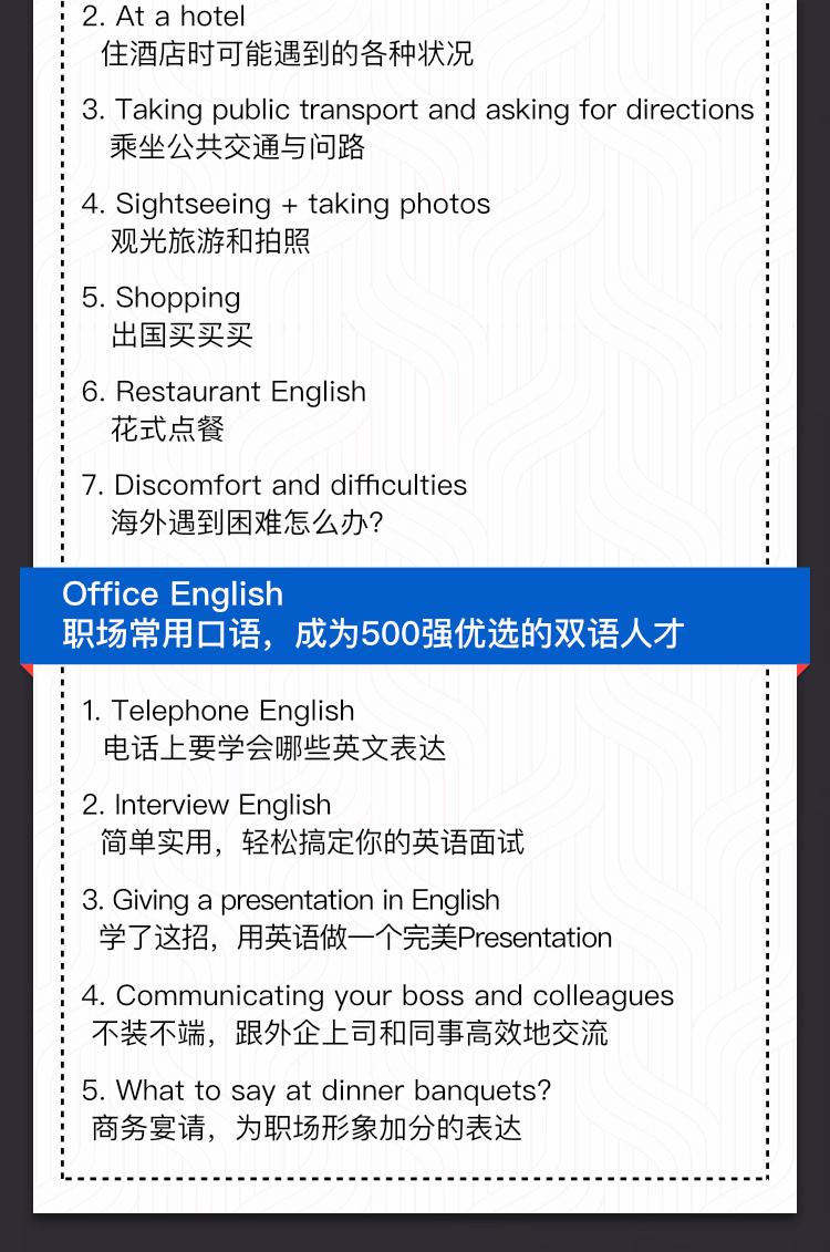 导师Chris:16堂外教实用口语课,让你的英语脱口而出!