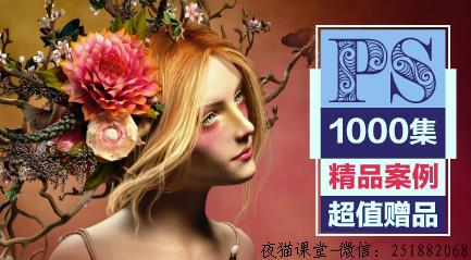 入门到精通:PS零基础教程超级合辑【1000集冠军课】