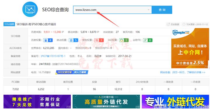 精品干货:附子seo培训网站博客模板(免费分享)