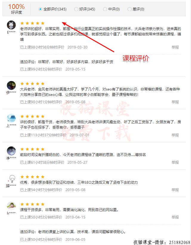 墨子学院seo内页排名技术vip课程(第9期)