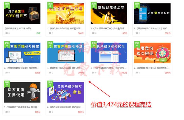商梦网校:打造竞价金矿产品,sem竞价营销班视频教程