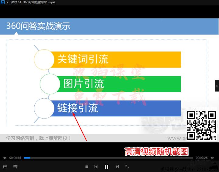 商梦网校:2019微商整合营销网赚课程(完整版)